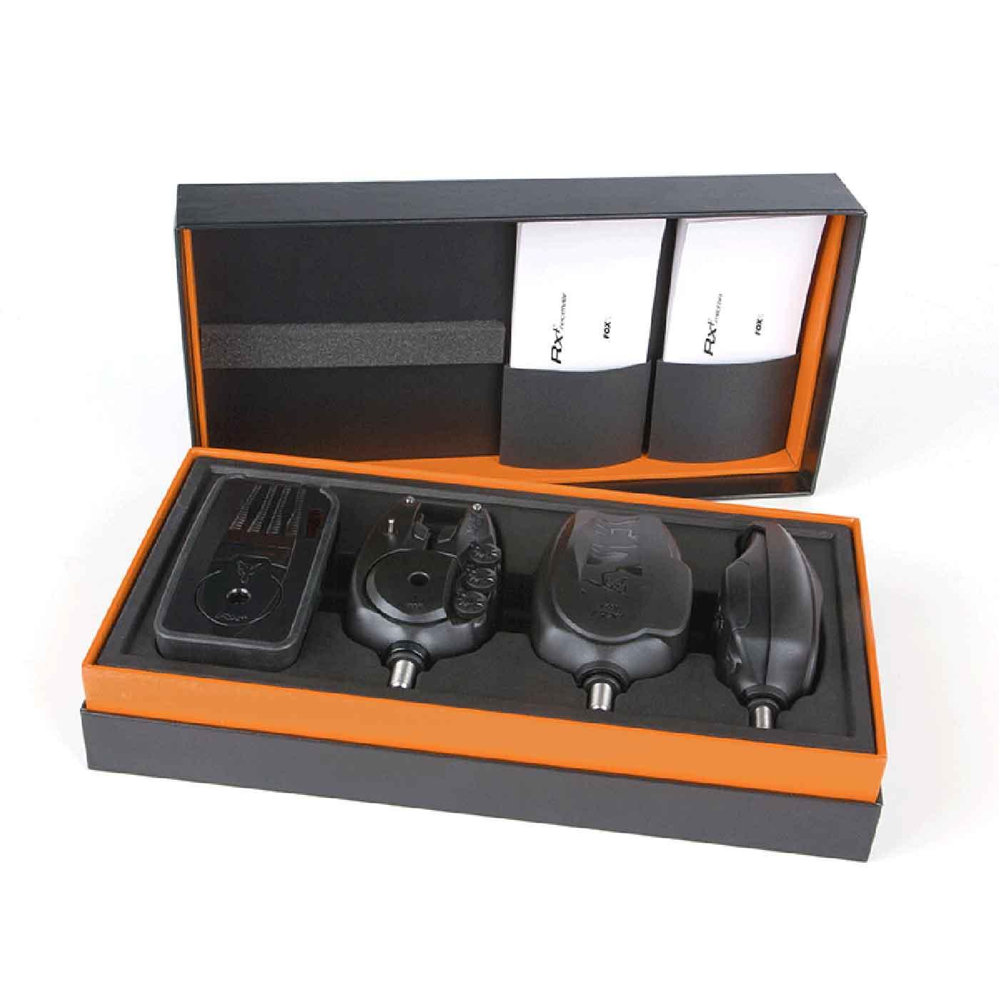 Fox Micron RX+ 3 Rod Alarm Set