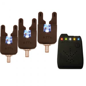 Gardner Underlit ATTs Set of 3 x Alarms and ATTx Receiver.