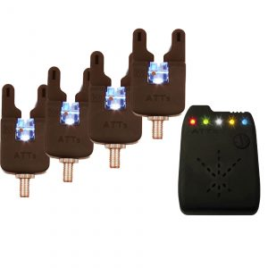 Gardner Underlit ATTs Set of 4 x Alarms and ATTx Receiver.