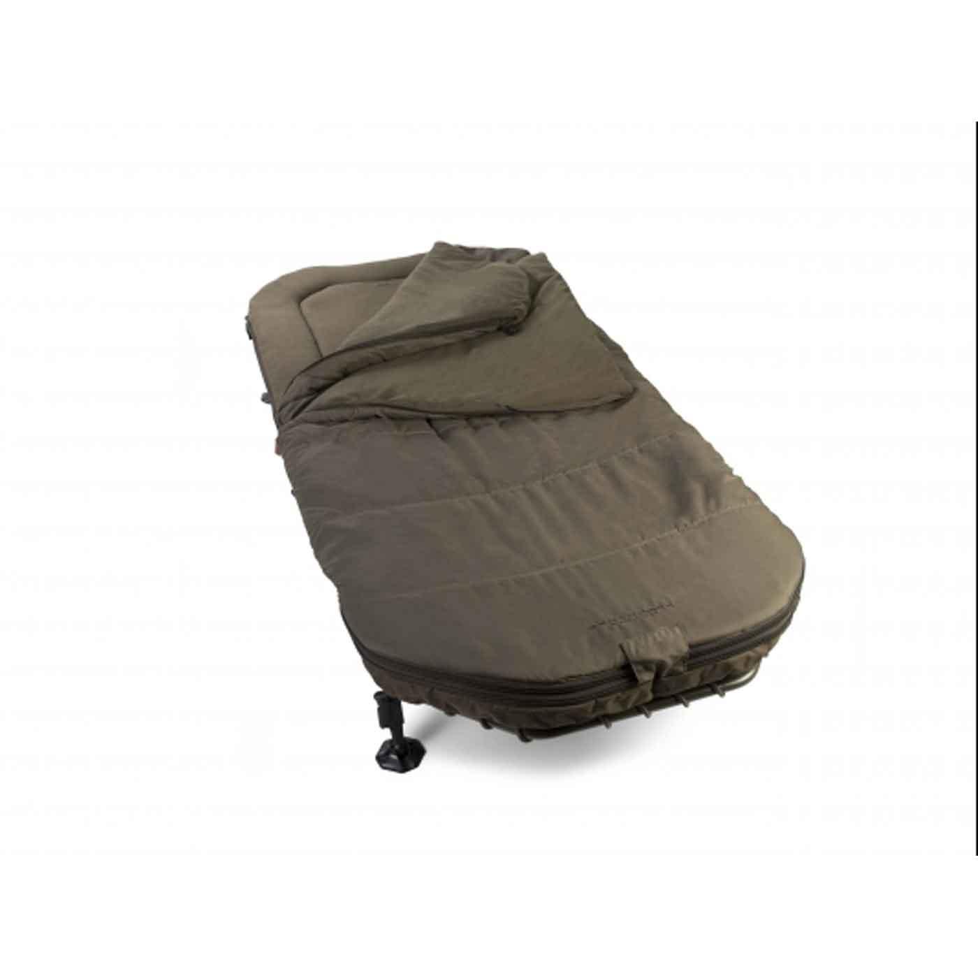 Avid Carp Benchmark Memory Foam System Bedchair