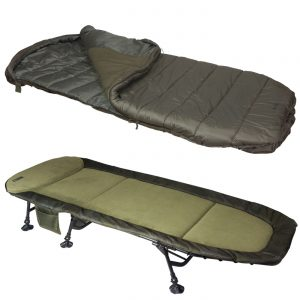 Sonik SK-TEK Levelbed & Sleeping Bag Combo + Free Pillow