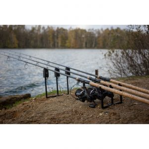 Korda Black Aluminium Singlez Full Front & Back 3 Rod System Set (12 Pieces)