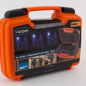 Fox Micron MXR+ 4  Rod Presentation Set - Blue LED