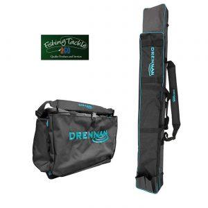 Drennan 4/6 Tube Full Zip Pole Holdall + Drennan Medium Carryall