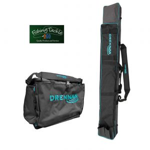 Drennan 10/12 Tube Twin Zip Pole Holdall + Drennan XL Carryall