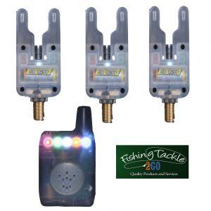 Gardner ATTs Clear Underlit Bite Alarms x 3 + V2 ATTx Deluxe Receiver