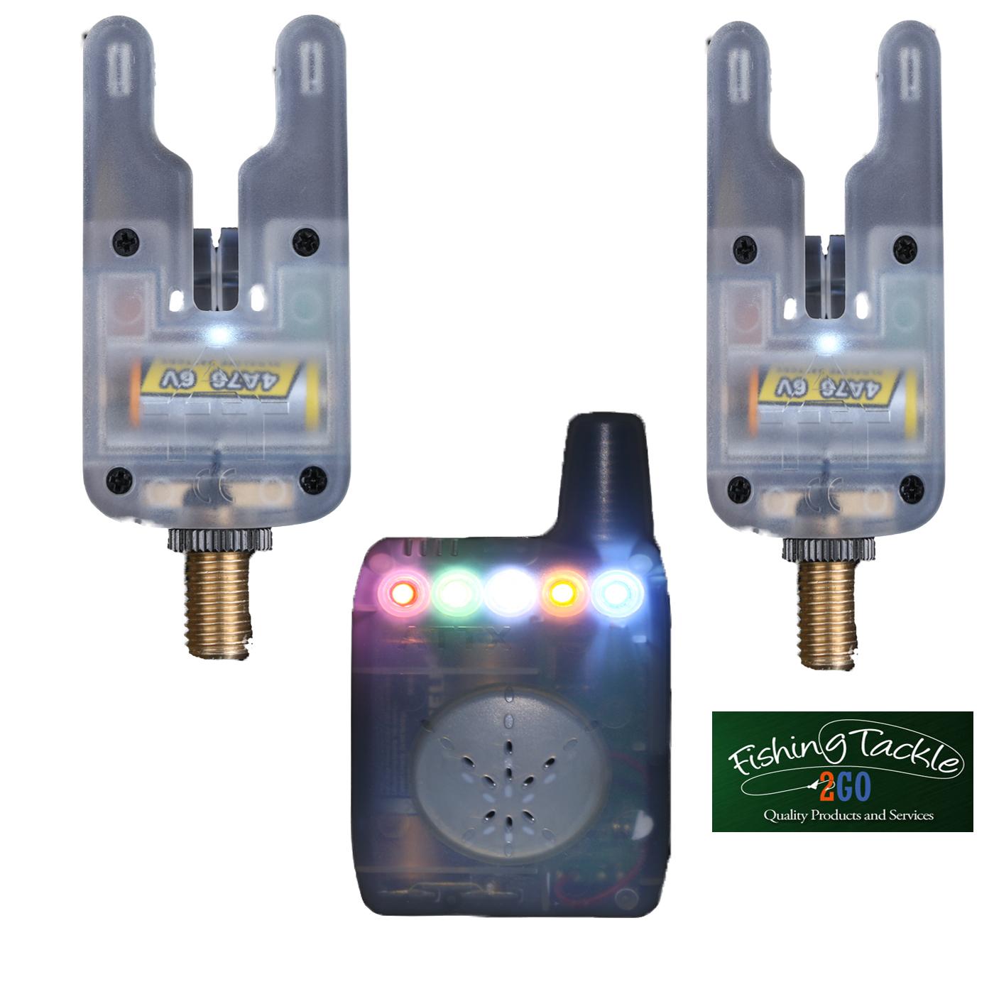 Gardner ATTs Clear Underlit Bite Alarms x 2 + V2 ATTx Deluxe Receiver