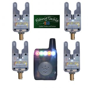 Gardner ATTs Clear Underlit Bite Alarms x 4 + V2 ATTx Deluxe Receiver