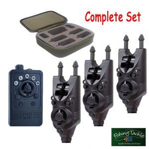 Nash Siren R3 x 3 Alarms + R3 Receiver Set in Presentation Case * Brand New*