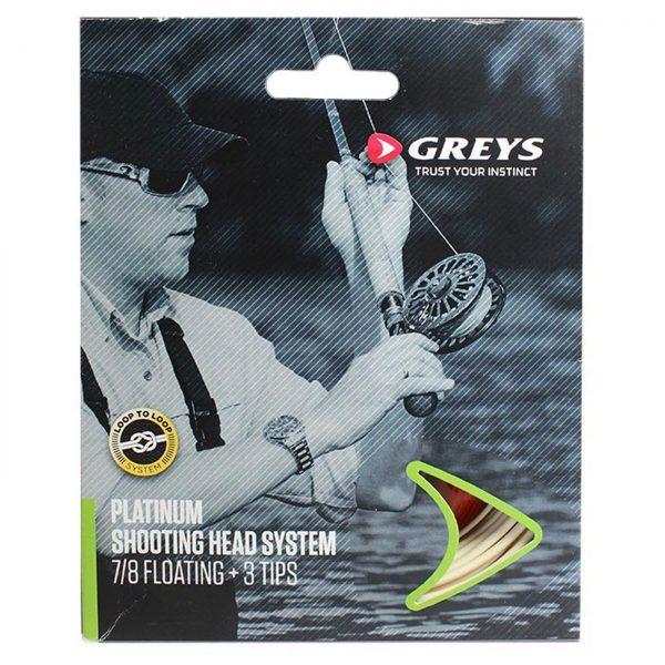 Greys Platinum Shooting Head System wf 10/11 Float
