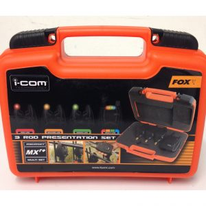 Fox Micron MXR+ 3 Rod Presentation Set (R,O,G LED)