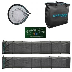 Drennan 10ft Carp Keepnet (Set of 2) + 2 Net Bag + FREE Speedex Landing Net