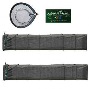 Drennan 10ft Carp Keepnet (Set of 2) with FREE Speedex Landing Net