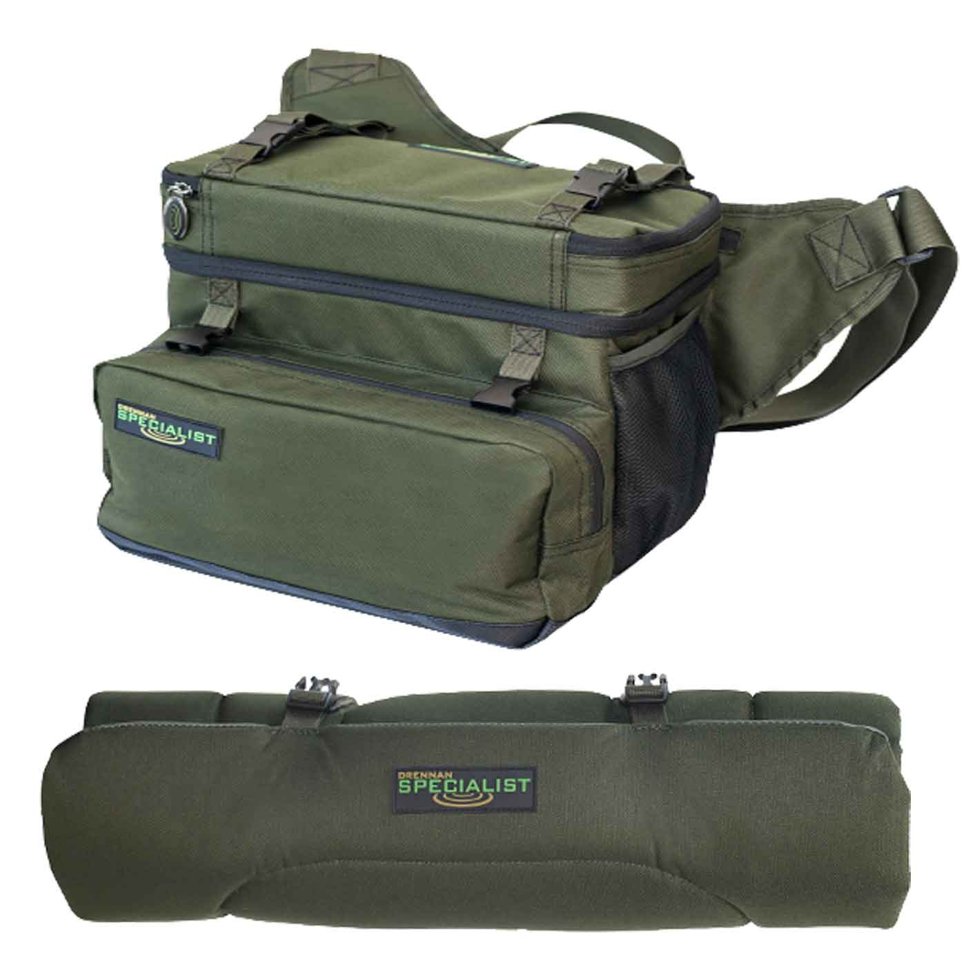 Drennan Specialist Compact Roving Bag 20Ltr + Compact Unhooking Mat