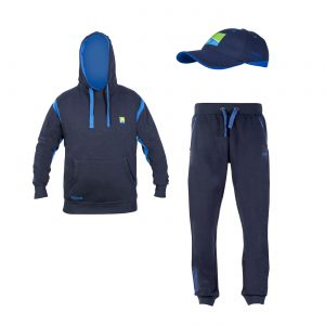 c5587ddd7 Preston Innovations Navy Pullover Hoodie and Joggers + Free Cap