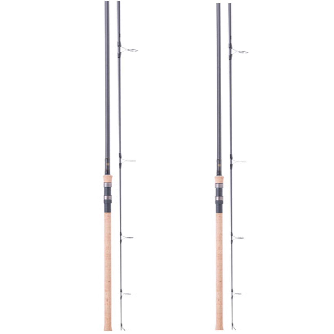 Wychwood Extremis FC 12ft 3.5lb T.C Cork Handle Carp Rod -Set of 2-